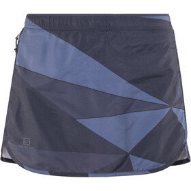 Salomon Agile Skort Damer, night sky/graphite/crown blue